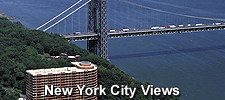 New York City skyline views at The Palisades in Fort Lee, NJ